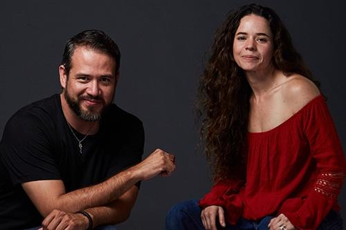 Mick García y Elena Rojas