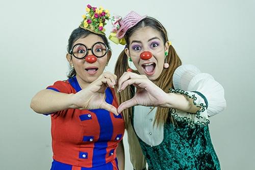 Jomira Moncayo y Mirella Cercado